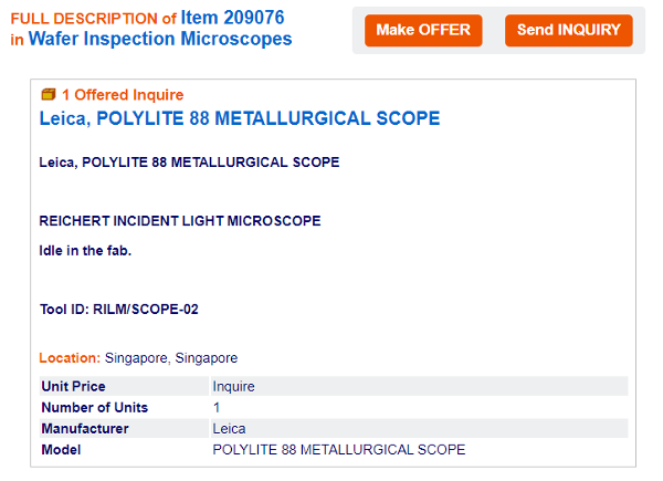 KLA-Polylite-88-METALLURGICAL-SCOPE