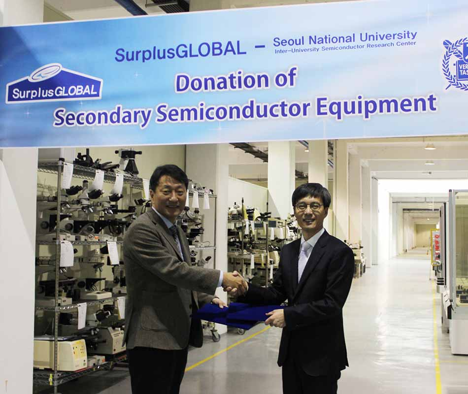 Donation of Semiconductor Equipment