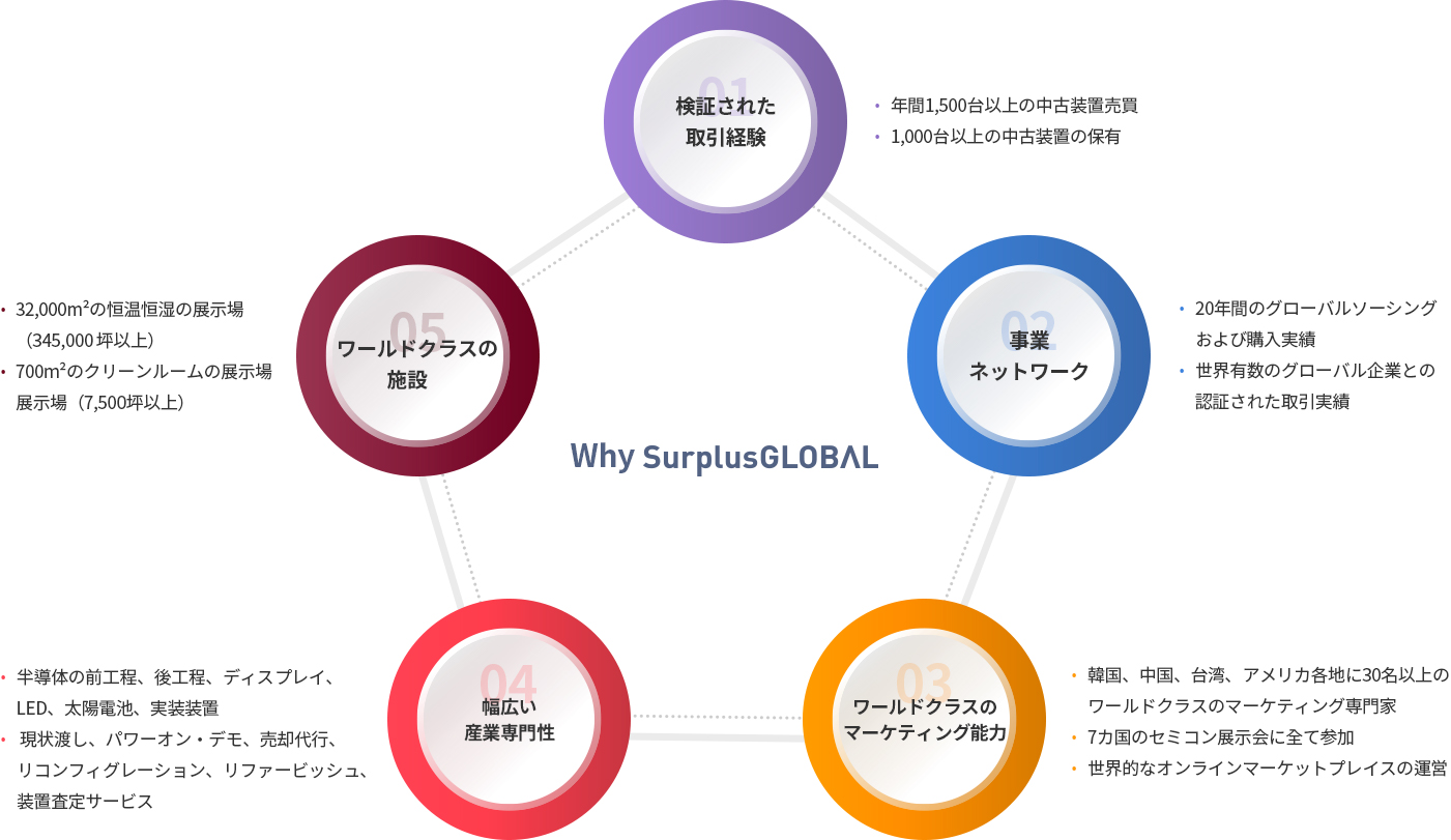 Why surplusGlobal infographic
